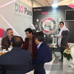 "Diopars booth at the ""18th International Congress of Iran's Periodontology Association"" held at kaya hotel, was remarkably welcomed by dentists"
