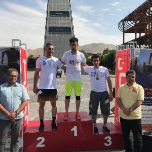 کسب مدال برنز توسط حسین نقدی از شرکت دایوپارس در هفتمین دوره مسابقات دو پارک فناوری پردیس